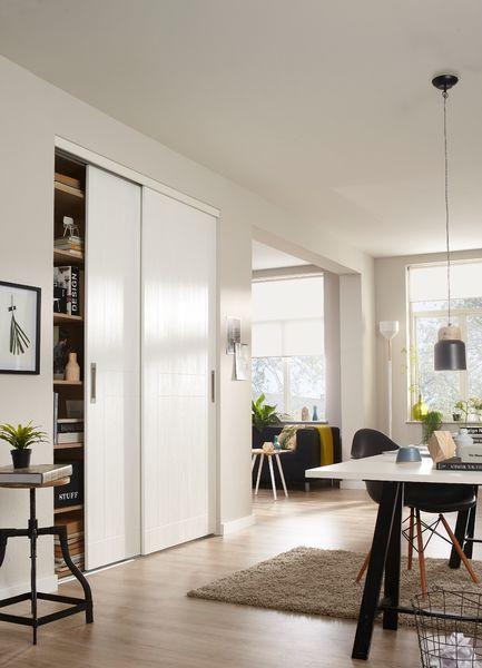 Ontwerp je eigen kasten voor in de woonkamer.
